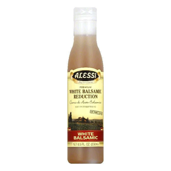 Alessi White Balsamic Vinegar, 8.5 OZ (Pack of 6)
