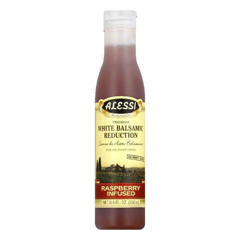 Alessi Raspberry Balsamic Vinegar, 8.5 OZ (Pack of 6)