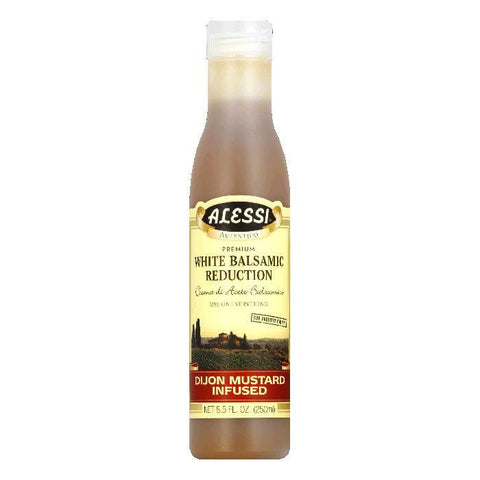 Alessi Dijon Balsamic Vinegar, 8.5 OZ (Pack of 6)
