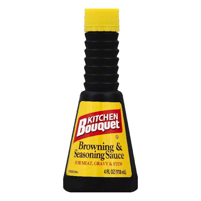 Kitchen Bouquet Browning & Seasoning Sauce, 4 OZ (Pack of 12)