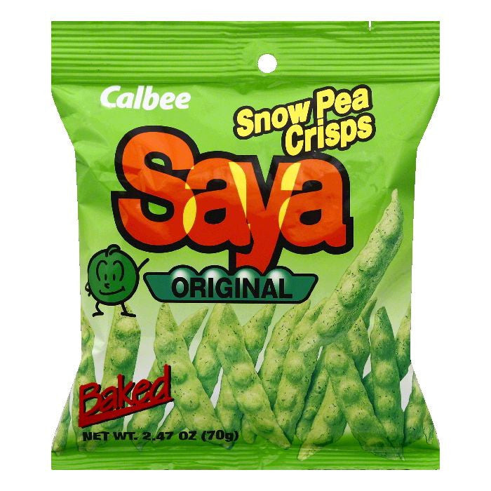 Calbee Original Snow Pea Crisps, 2.47 OZ (Pack of 12)