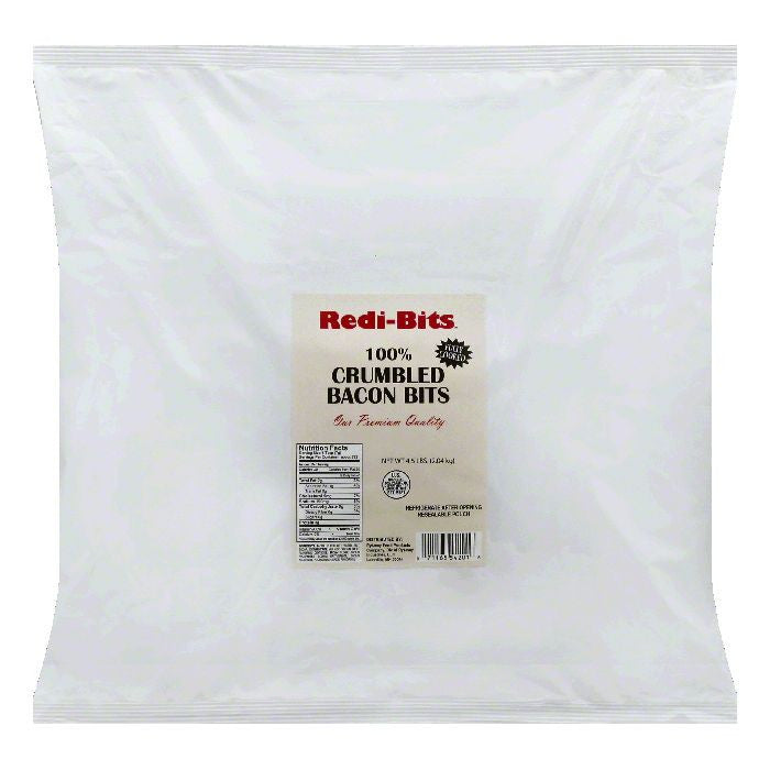 Redi Bits 100% Crumbled Bacon Bits, 4.5 lb (Pack of 6)