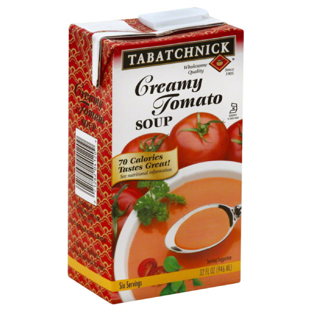 Tabatchnick Creamy Tomato Soup, 32 Oz (Pack of 12)
