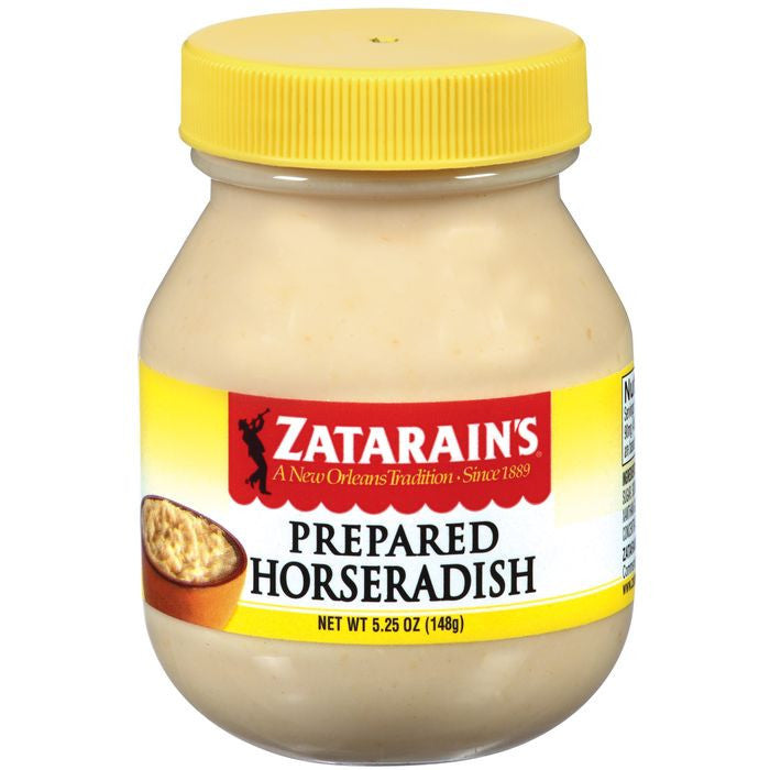 Zatarain's Prepared Horseradish 5.25 Oz  (Pack of 12)