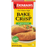 Zatarain's Bake & Crisp Chicken Breading Mix 8 Oz  (Pack of 12)