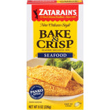 Zatarain's Bake & Crisp Seafood Breading Mix 8 Oz  (Pack of 12)