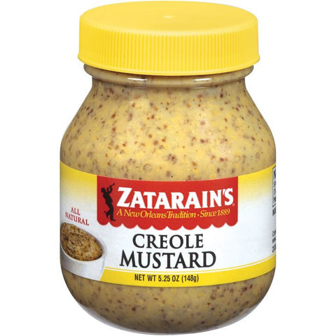 Zatarain's Creole Mustard 5.25 Oz  (Pack of 12)