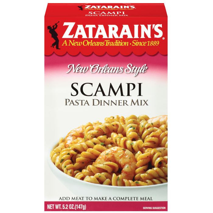Zatarain's Scampi Pasta Dinner Mix 5.2 Oz  (Pack of 8)