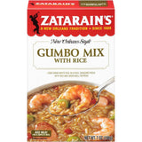 Zatarain's Gumbo Mix with Rice 7 Oz  (Pack of 12)