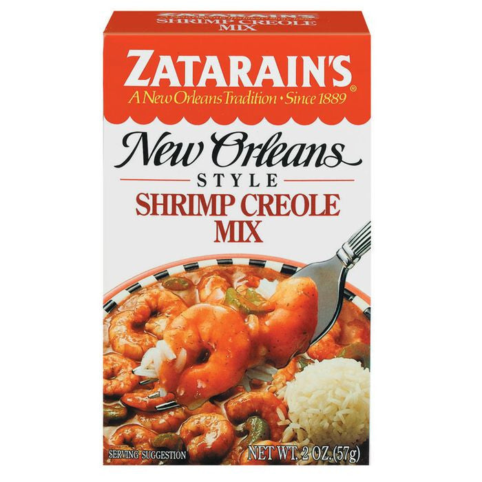Zatarain's Shrimp Creole Mix 2 Oz  (Pack of 12)