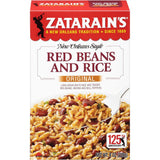 Zatarain's Original Red Beans and Rice Mix 8 Oz  (Pack of 12)