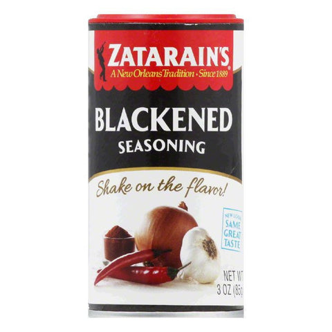 Zatarain's Seasoning Blackened Shaker, 3 OZ (Pack of 12)