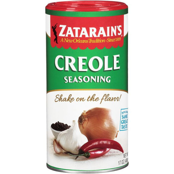 Zatarain's Creole Seasoning 17 Oz Shaker (Pack of 12)