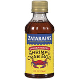 Zatarain's Concentrated Shrimp & Crab Boil 8 fl. Oz  (Pack of 12)
