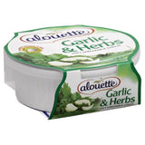 Alouette Garlic & Herbs Soft Spreadable Cheese, 6.5 Oz (Pack of 12)
