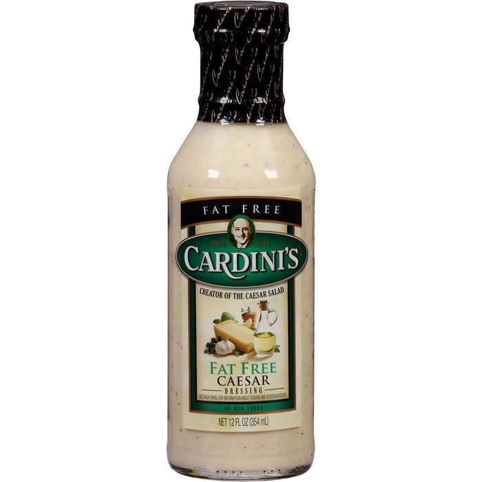 Cardini's Fat Free Caesar Dressing 12 fl. Oz   (Pack of 6)
