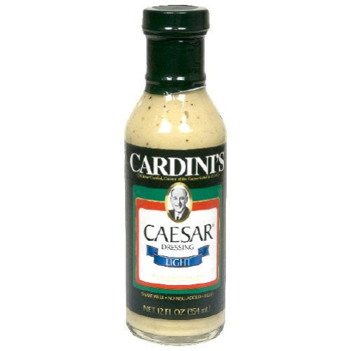 Cardini's Light Caesar Dressing 12 fl. Oz   (Pack of 6)