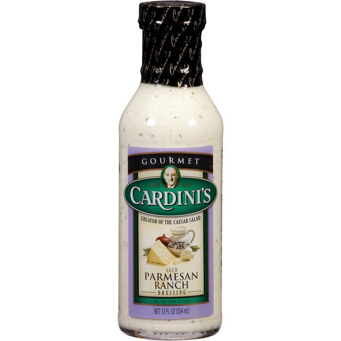 Cardini's Aged Parmesan Ranch Dressing 12 fl. Oz   (Pack of 6)