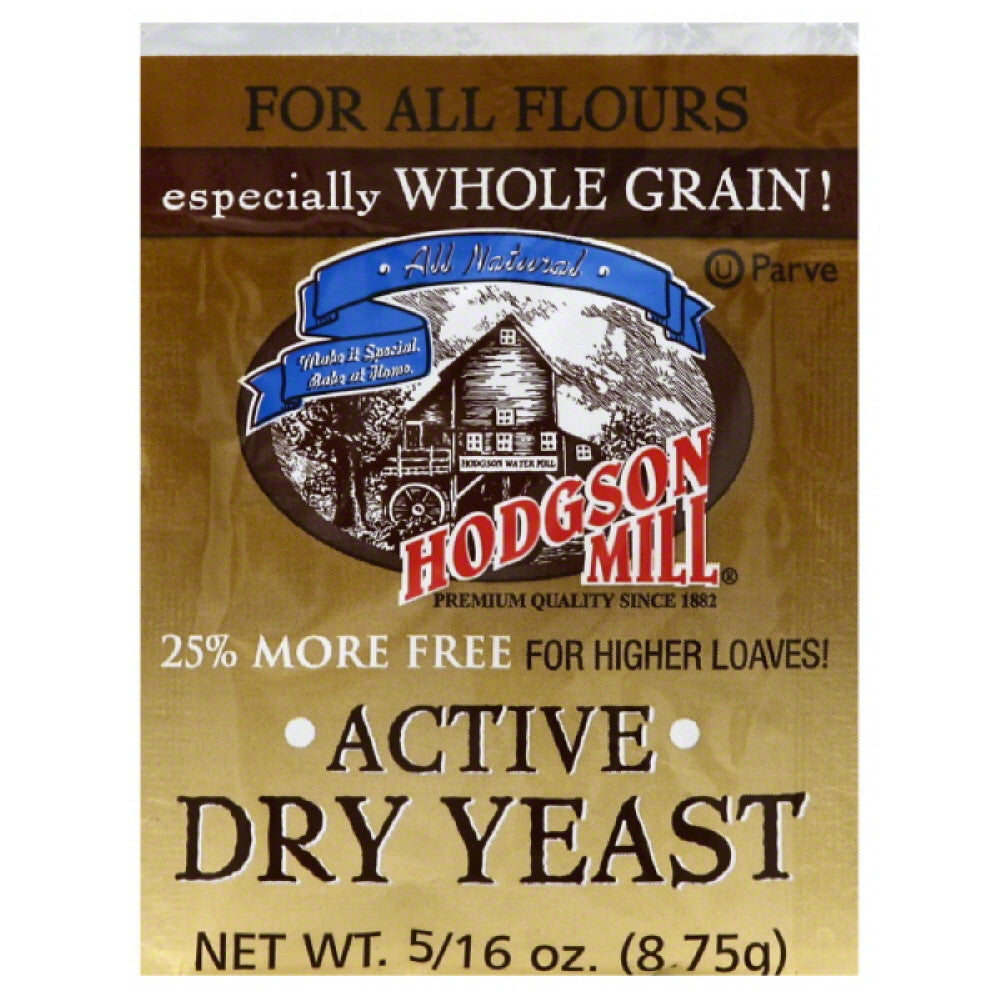 Hodgson Mill Active Dry Yeast, 8.75 Gm (Pack of 48)