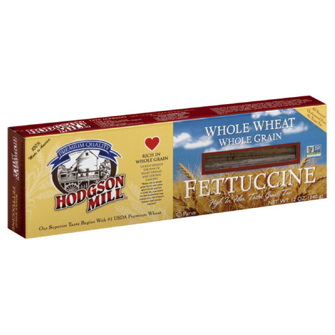 Hodgson Mill Fettuccine Whole Wheat, 12 Oz (Pack of 12)