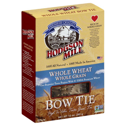 Hodgson Mill Bow Ties Whole Wheat, 10 Oz (Pack of 12)