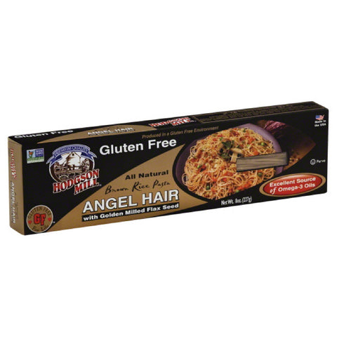 Hodgson Mill Gluten Free Brown Rice Pasta Angel Hair, 8 Oz (Pack of 12)