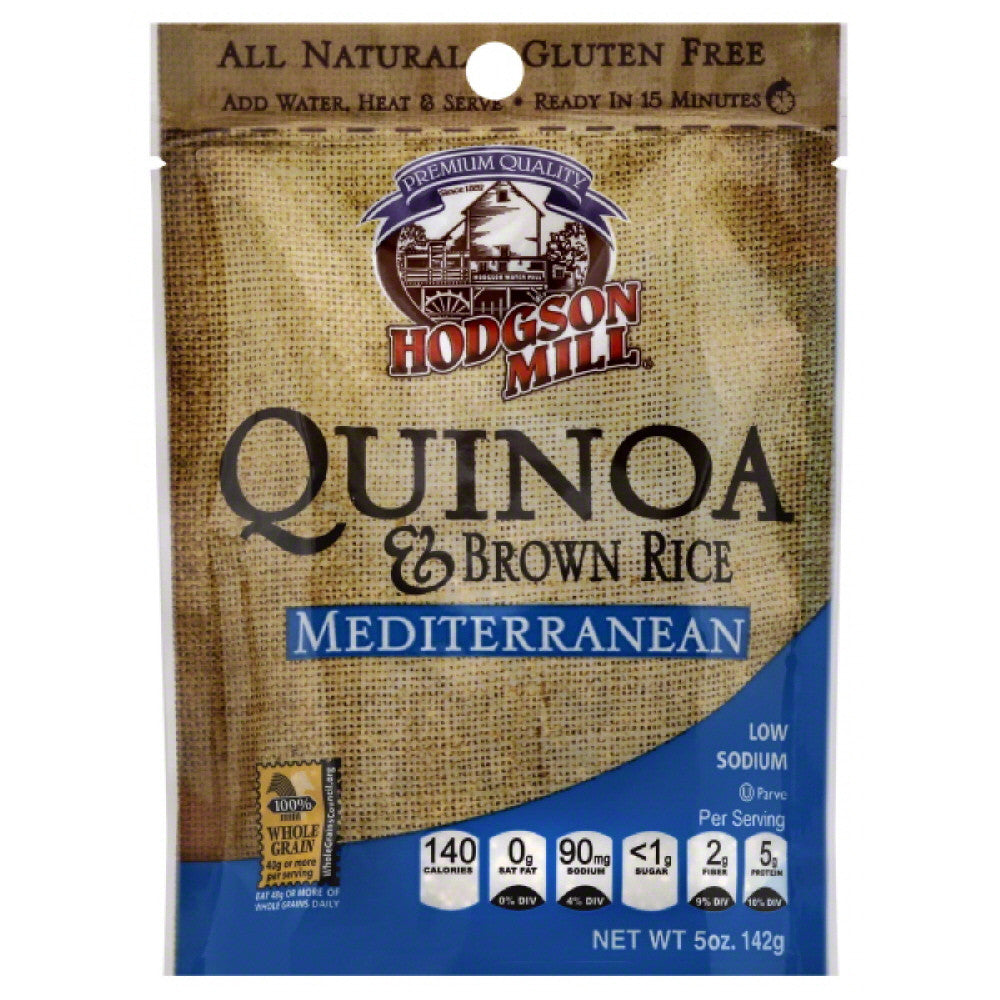 Hodgson Mill Mediterranean Quinoa & Brown Rice, 5 Oz (Pack of 6)