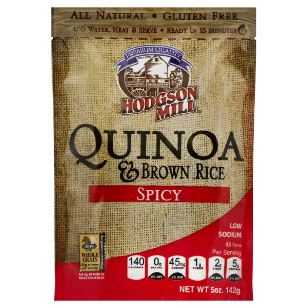 Hodgson Mill Spicy Quinoa & Brown Rice, 5 Oz (Pack of 6)