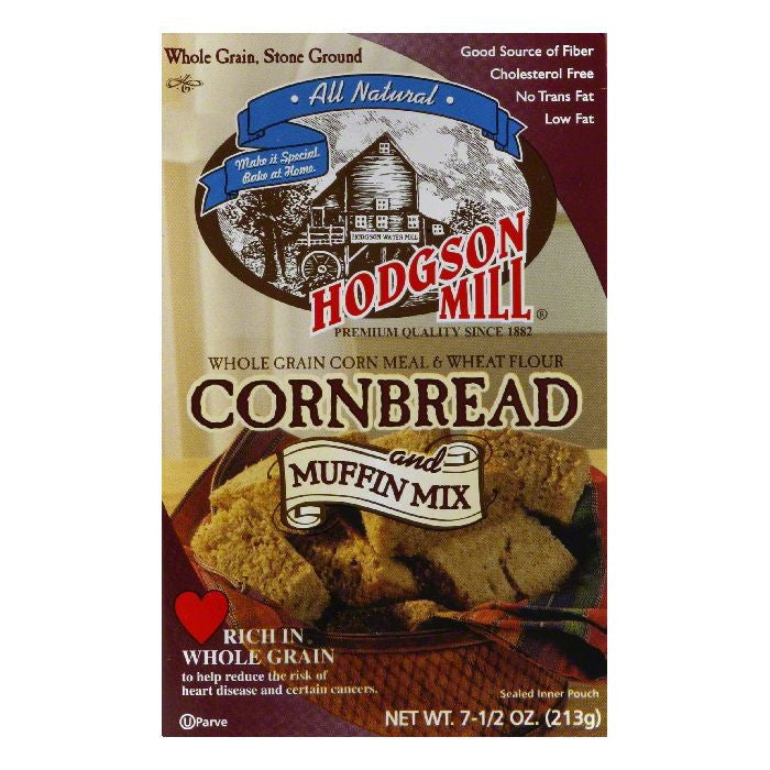Hodgson Mill Cornbread & Muffin Mix, 7.5 OZ (Pack of 8)