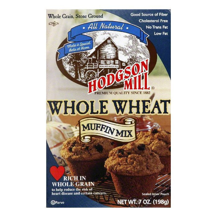 Hodgson Mill Muffin Mix Whole Wheat, 7 OZ (Pack of 8)