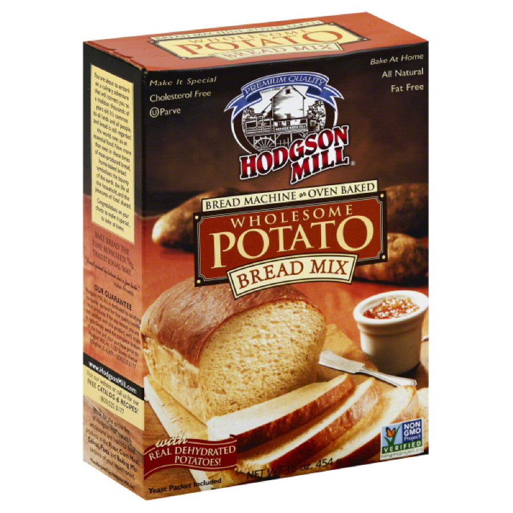 Hodgson Mill Bread Mix Wholesome Potato, 16 Oz (Pack of 6)