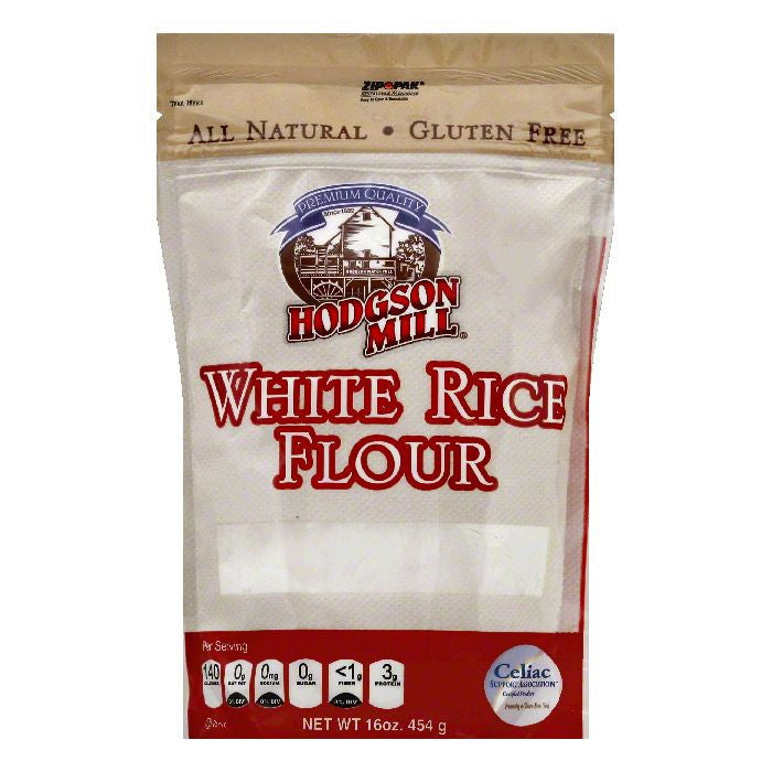 Hodgson Mill White Rice Flour, 16 OZ (Pack of 6)