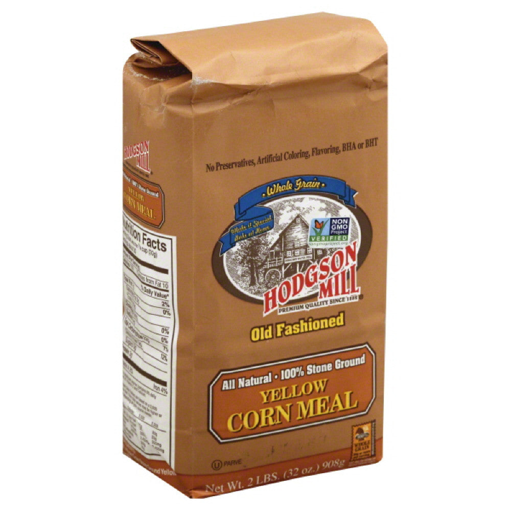 Hodgson Mill Corn Meal Yellow, 2 Lb (Pack of 6)