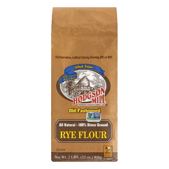 Hodgson Mill Hodgsen Flour Rye, 2 LB (Pack of 6)