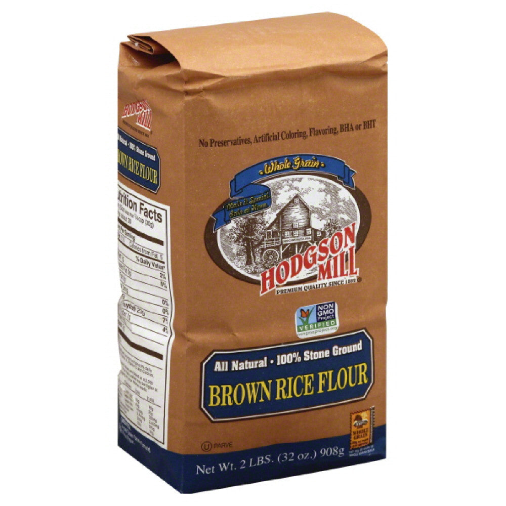 Hodgson Mill Brown Rice Flour, 2 Lb (Pack of 6)