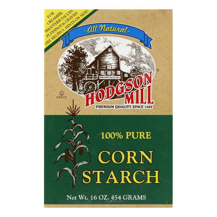 Hodgson Mill Pure Corn Starch, 16 OZ (Pack of 12)