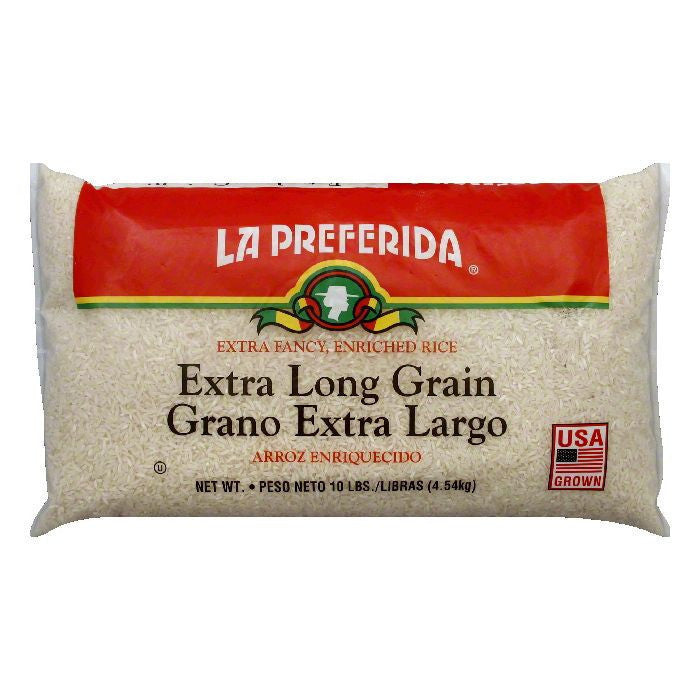 La Preferida Rice Long Grain, 10 LB (Pack of 4)