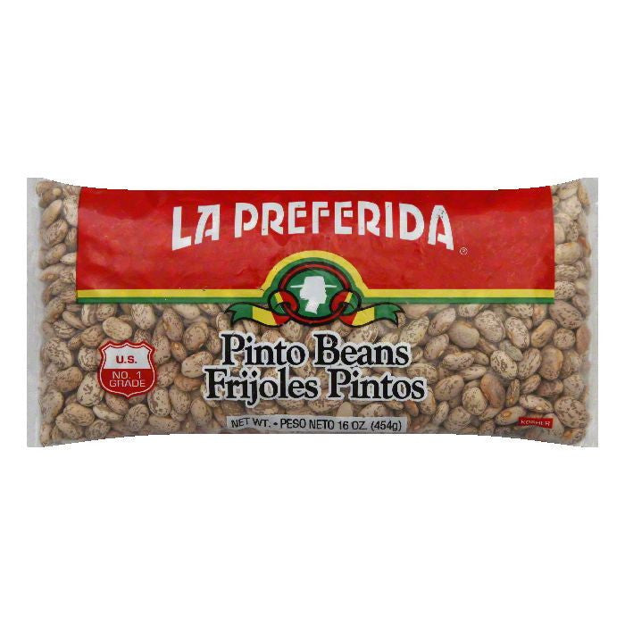 La Preferida Pinto Beans, 16 OZ (Pack of 24)