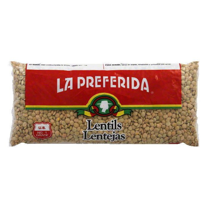 La Preferida Lentils, 16 OZ (Pack of 24)