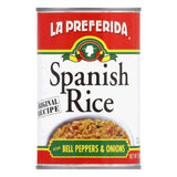 La Preferida Rice Spanish, 15 OZ (Pack of 12)