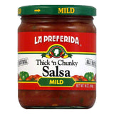 La Preferida Sauce Picante Mild, 16 OZ (Pack of 12)