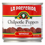 La Preferida Chiles Chipotle, 11 OZ (Pack of 12)