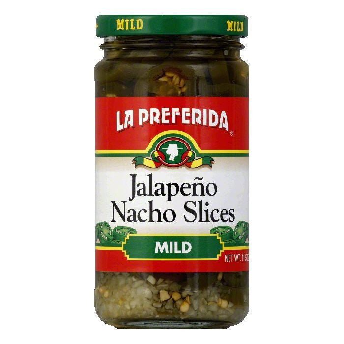 La Preferida Chiles Jalapeno Nacho Slices Mild, 11.5 OZ (Pack of 12)