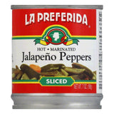 La Preferida Chiles Jalapeno Sliced (Pack of 24)