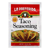 La Preferida Seasoning Taco, 1.25 OZ (Pack of 24)