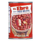 El Ebro Small Red Beans, 15 OZ (Pack of 24)