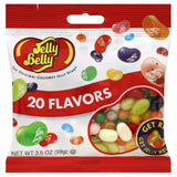 Jelly Belly 20 Assorted Flavors Jelly Beans, 3.5 Oz (Pack of 12)