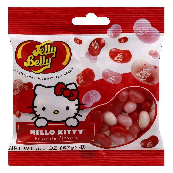 Jams & Preserves Belly Hello Kitty Favorite Flavors Original Gourmet Jams & Preserves Beans, 3.1 Oz (Pack of 12)