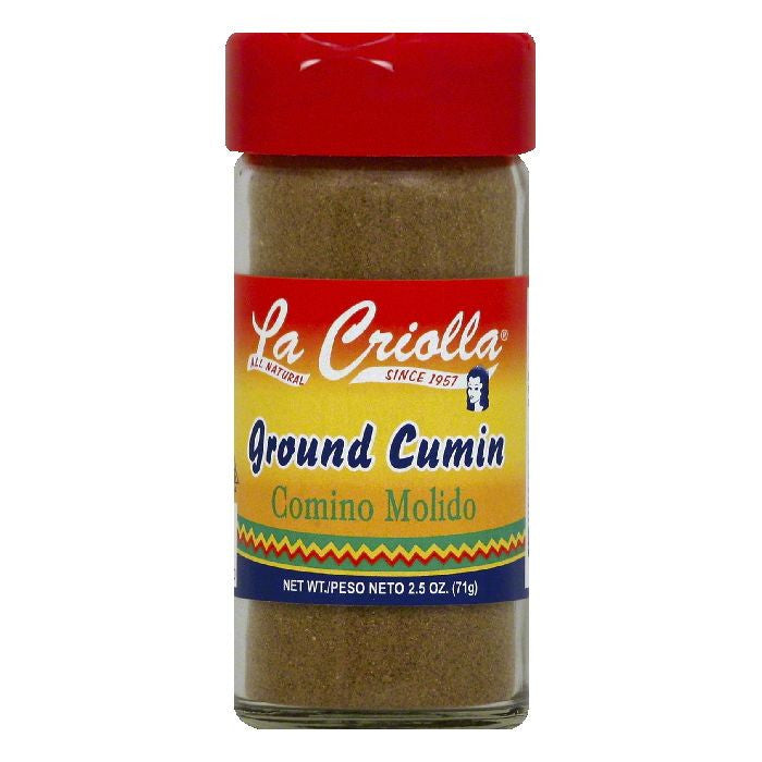 La Criolla Ground Cumin, 2.5 OZ (Pack of 12)