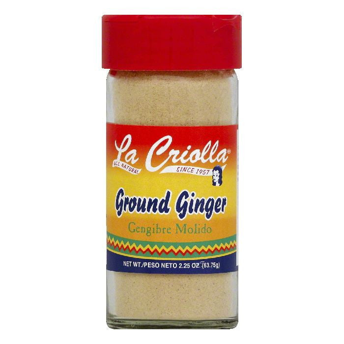 La Criolla Ground Ginger, 2.25 OZ (Pack of 12)